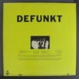 Defunkt 1st album back cover
